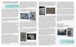 brochure Metal en el camino exhibition. Essay by Cheli Sanabria (curator of Metal en el camino)