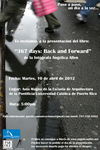 367 days- Back and Forward (book presentation, Ponce, Puerto Rico)