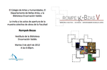 Rompecabezas (collective exhibition PUCPR, Ponce. April until May 2012)