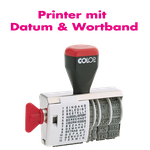 Printer mit Datum & Wortband