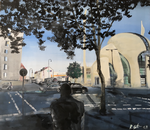 2018 Moschee 100x88cm 750,-€