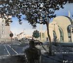 2018 Moschee 100x88cm 1900,-€