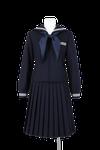 不動中学校女子春制服