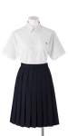 川島高校女子夏制服