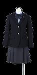 徳島科学技術高校女子春制服