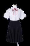 北井上中学校女子夏制服