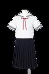 富田中学校女子夏制服