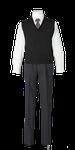 城南高校男子合い制服(ニットベスト着用)