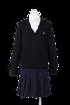 名西高校女子合い制服(セーター着用)
