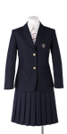 川島中学校女子春制服
