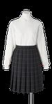 上八万中学校女子合服