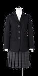 上八万中学校女子春制服