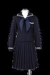 国府中学校女子春制服