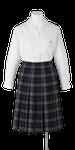 城ノ内高校女子夏制服(長袖開襟ブラウス着用)