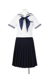 徳島中学校女子夏制服