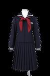 北井上中学校女子春制服