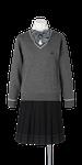城北高校女子合い制服(セーター着用)