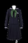南部中学校女子春制服
