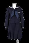 八万中学校女子春制服