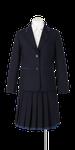 小松島西高校女子春制服