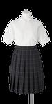 上八万中学校女子夏服