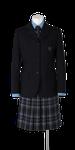 城東高校女子春制服