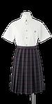 鳴門渦潮高校女子夏制服