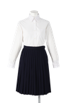 名西高校女子合い制服(長袖ブラウス着用)