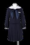 石井中学校女子春制服
