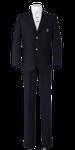 川島中学校男子春制服