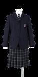 城西高校女子春制服