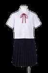 石井中学校女子夏制服