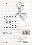 047 D Nelva Giorgio – , Anatomia, 1982 Italia carta mista, collage 4/20 originale numerato 21x29,7 cm.