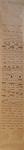 067 B Torelli Anna, Verticale, 1987 Italia carta pennarello   153,5x24 cm