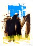 025 D 03 Del Donno Antonio, 2000, Italia, cartone, tecnica mista, 50x70 cm.