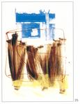 025 D -01-02-03-04-05-06 Del Donno Antonio, 2000, Italia, cartone, tecnica mista, 50x70 cm.