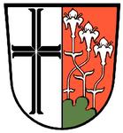 Das Wappen des Standortes Hammelburg - ab 1992 Lagerung des Großgerätes