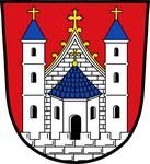 Das Wappen des Standortes Mellrichstadt von 1992 bis 2003