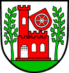 Das Wappen des Standortes Walldürn von 1958 bis 1992