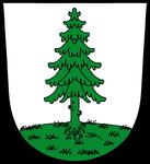 Das Wappen des Standortes Oberviechtach von 2003 bis zur Auflösung