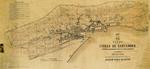 """1865 """"Plano de la Ciudad de Santander construido por disposición y a costa de su Excmo. Ayuntamiento"""", por Joaquín Pérez de Rozas"""