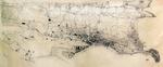 1937 Plano de la ciudad de Santander (inconcluso), por Eugenio Rioyo Gutiérrez