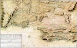 """¿Año? """"Mapa de la Villa de Santander y sus contornos que comprende parte de la Ria, Puerto y el Astillero de Guarnido donde se fabrican los navíos de S.M"""" (norte abajo)"""