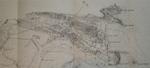"""1920 """"Junta de las Obras del Puerto de Santander. Dirección facultativa. Plano general de la Bahía"""" (fragmento)"""
