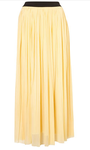 Pleated Maxi Skirt by Love**, Topshop