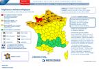 Alerte rouge neige lancée par Méteo France, une première en France
