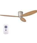 Ventilateur de plafond chêne et inoxydable beau et durable