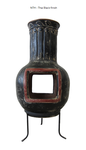 "M168 Chimenea Dos Bocas Colonial   Md. 20""w x 41""h. (with std.)"
