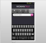 women talk app interface design on andriod 003