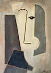 HEAD OF MEN II - Oil on canvas - 46x33cm - 2019